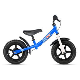 "RoyalBaby ChipMunk Bici senza pedali in acciaio 12"" Bambino, blu"